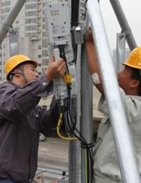 宁化石壁村无线设备安装